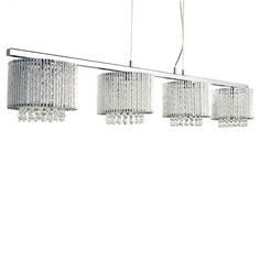 This 4 light large ceiling bar will add instant style to a contemporary dining room and is ideal when used above a table Kitchen Lighting, Kitchen Island Pendants, Willa Arlo Interiors, Contemporary Dining Room, Light, Dar Lighting, Kitchen Island, Lantern Lights, Trendy Farmhouse Kitchen