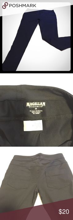 Magellan Sportswear Spandex Pants Worn one time, excellent condition, dressy legging with pockets on the back Pants Leggings