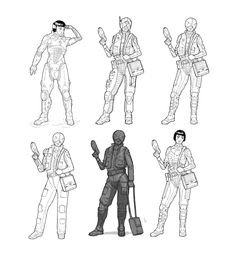 ArtStation - Cyberpunk Pilot, Darko Kreculj