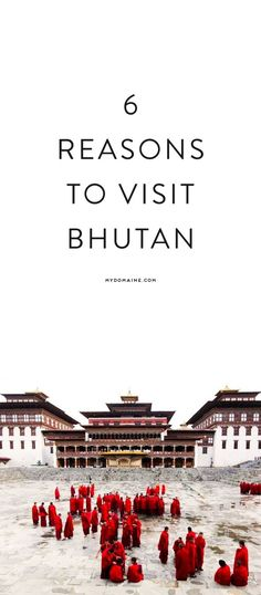 Here's why you need to book your flight to Bhutan ASAP
