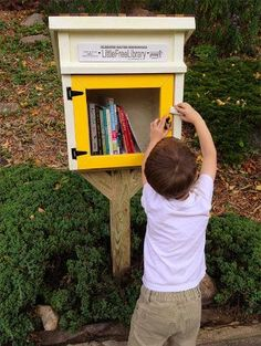 Little Free Library   Take a Book • Return a Book