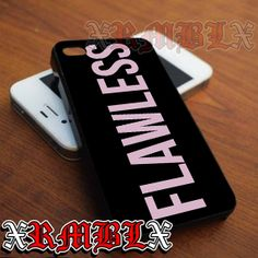 Flawless Beyonce Pink - iPhone 4/4s/5/5s/5c - Samsung Galaxy s2/s3/s4/s5 - iPod 2/4/5 - Black/White by XRMBLX, $15.10 on Etsy