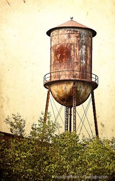 """Denison, TX: """"Water Tower"""" by jangalland, via Flickr  The old WHITE SWAN water tower just 100' south of Main near the MKT Railroad Tracks"""