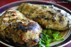 Rosemary Garlic Mustard Chicken