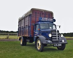 Seen at the Essex Country Show, Barleylands 2015 Bedford Truck, Old Lorries, Commercial Vehicle, Classic Trucks, Old Trucks, Buses, Cattle, Vintage Cars, Diesel