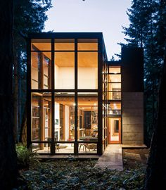 #houseinspiration #architecture The Lightbox Bohlin by Cywinski Jackson