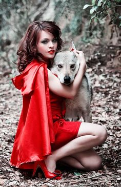 Red loved that wolf.