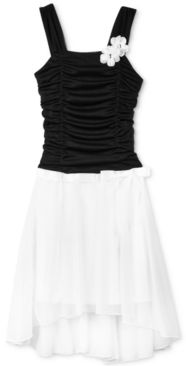 #BCX                      #kids                     #Girls' #Ruched #High-Low #Dress                    BCX Girls' Ruched High-Low Dress                                              http://www.snaproduct.com/product.aspx?PID=5445637