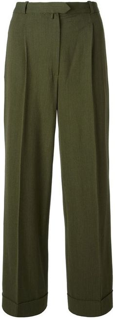 Christian Dior wide leg trousers on shopstyle.com