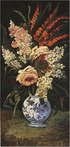 Van Gogh Gallery.  God sees us as a beautiful vase set as a centerpiece in which to show off the bouquet of his Spirit. 1 Corinthians 6:19-20