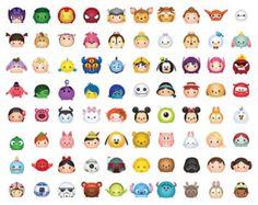 99 Tsum Tsum Character Digital size Print Files by OhWowDesign Kawaii Disney, 365 Kawaii, Disney Love, Cute Disney Drawings, Kawaii Drawings, Cute Drawings, Disney Doodles, Cute Disney Wallpaper, Cartoon Wallpaper
