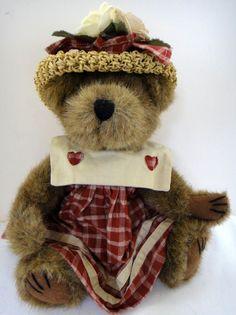 "Boyd's Bear Gettysburg Prairie The Archive Series #1364 12"" Plush Country New #Boyds #bear #teddybear #dolls #girls #bedroom #decor #collectible"