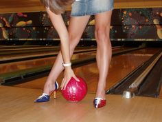 Bowling Heels - how friggin awesome