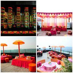 mehendi function | decor | colour | vibrant | wedding | outdoor | henna | wedding planners | wedding planner india | wedding planner mumbai | the wedding co | TWC India