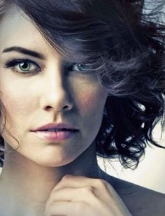 Lauren Cohan She's such a beauty and she's hilarious - one of my favourite characters from walking dead as well
