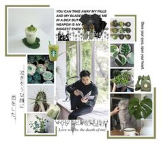 """Suho Cats and Ice Tea"" by park-ji-eun ❤ liked on Polyvore featuring Dr. Martens and GET LOST"