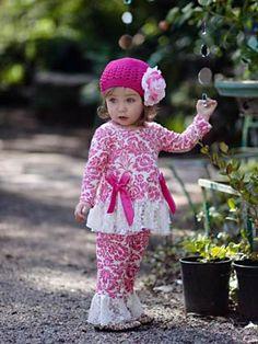 Candy Cane Crochet Hat