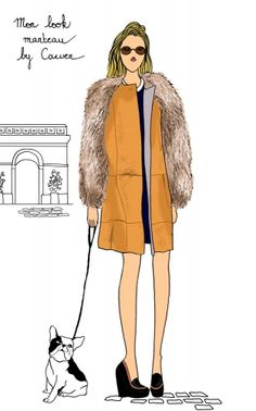 Do it in Paris - Carven by Angeline Melin #fashion #illustration #Paris