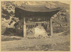 Buddhist wayside shrine, Okchen Temple(1904) - Willard Dickerman Straight / 옥천암 마애좌상(1904) - 윌러드 디커맨 스트레이트