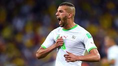 Leicester City agree deal for Algeria striker Islam Slimani - sources Leicester, Andy King, Epl News, Manchester United Transfer, Portugal, World Cup Qualifiers, World Cup Russia 2018, As Monaco, International Football