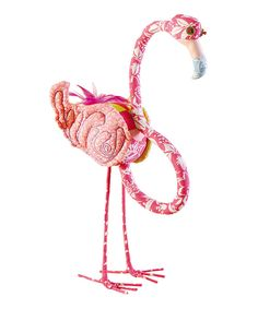 Another great find on #zulily! Flamingo Décor by C & F #zulilyfinds