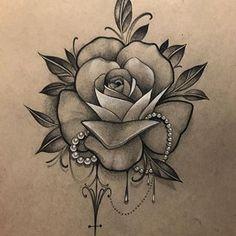 #yegtattoos #edmontontattoos #edmonton #capitaltattoo Butterfly With Flowers Tattoo, Mandala Flower Tattoos, Flower Tattoo Drawings, Beautiful Flower Tattoos, Floral Tattoo Design, Flower Tattoo Designs, Mago Tattoo, Rosa Tattoo, Rose Tattoos For Women