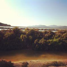 Salt flats of Ibiza