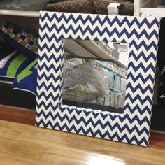 Zigzag mirror from homegoods
