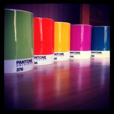 [ color + #designnerd ]  #Pantone mugs