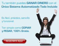No pierdas más tiempo y comienza a ganar dinero ahora con el sistema que está revolucionando Internet... Regístrate gratis desde el siguiente enlace: http://gananciaz.com/ganardinero/Jesus744