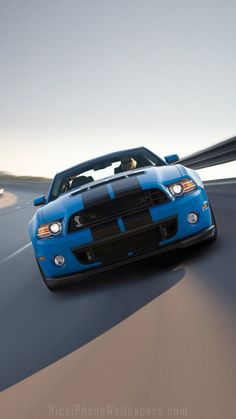Ford Mustang Shelby GT500 2014 iPhone 6/6 plus wallpaper