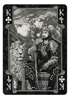 King of Clubs/Wands