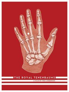 "Bad Dads 2: The Royal Tenenbaums ""We Were On the Same Team"" byRandy Ortiz  #anatomy #royaltenenbaums #illustration"