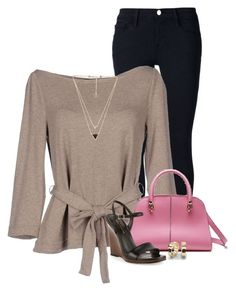 """""""Pop of Pink!"""" by houston555-396 ❤ liked on Polyvore"""
