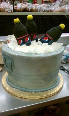Pepsi cake. What fun at a picnic!