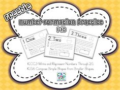 Freebie Number Formation {11-20}