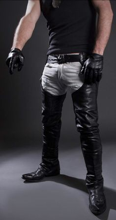 Best leather chap sex galleries