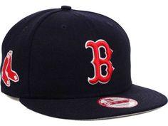 Boston Red Sox MLB 2 Tone Link 9FIFTY Snapback Cap Hats