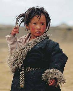 Jongen - Tibet