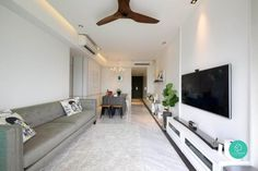 Renovating a home in Singapore can be quite the challenge, especially when you're faced with space constraints. After all, we wouldn't usually associate a 95 square metre (or less) apartment with the word spacious. Thankfully though, we've learnt to get creative with interior design! Not convinced? Perhaps