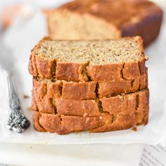 Chickpea Flour Banana Bread