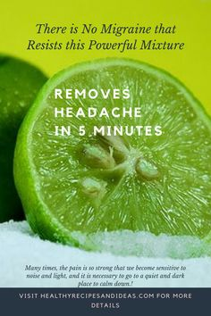 There is No Migraine that Resists this Powerful Mixture - It Removes the Headache in 5 Minutes - Best Kadın Natural Home Remedies, Natural Healing, Herbal Remedies, Cold Remedies, Health Remedies, Bloating Remedies, Holistic Healing, Holistic Remedies, Types Of Arthritis
