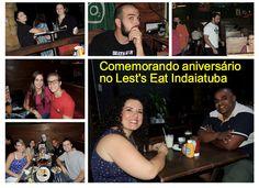 SOCIAIS CULTURAIS E ETC.  BOANERGES GONÇALVES: Jantando no sábado a noite no Let's Eat Indaiatuba...