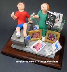 Psychiatrist's Gift, Counsellor's Gift, Therapist's Gift, Present for Psychiatrist, Therapist Gradua - Pflanzen Christmas Gift For Dad, Personalized Christmas Gifts, Magic Mud, Custom Made Gift, Gifts For Dentist, Doctor Gifts, Clay Figurine, You Are Awesome, Graduation Gifts