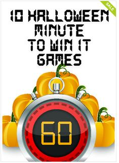 minute to win it - halloween..The Crafting Chicks