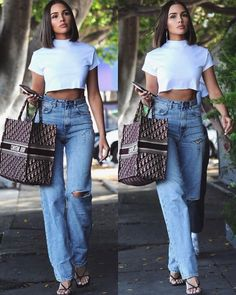 Clothes Ideas Archives - Best DIY and Crafts Ideas Chic Outfits, Spring Outfits, Trendy Outfits, Fashion Outfits, Womens Fashion, Olivia Culpo, Look Fashion, Fashion Beauty, Modell Street-style