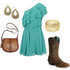 country girl, created by mariahlang on Polyvore