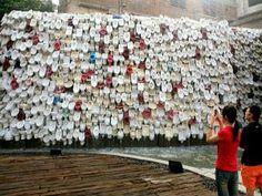 A estranha cachoeira sanitário em Foshan, China - AC Variedades