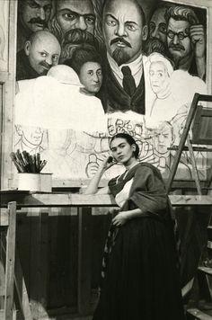 « Je donne une putain ce que le monde pense. Je suis né pute, je suis né peintre, né enculer. Mais je suis heureux dans mon chemin. Tu ne comprends pas ce que je suis. Je suis l'amour, je suis le plaisir, je suis essence, je suis un idiot, je suis un alcoolique, je suis tenace. Je suis, je suis juste ... tu es la merde « -. Frida Kahlo, jamais remis une lettre à Diego Rivera