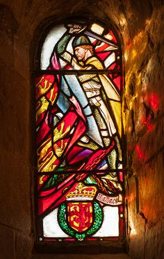 William Wallace - the stained glass is in St.Margaret's Chapel in Edinburgh Castle
